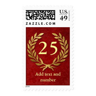 Important Number Customizable Stamp