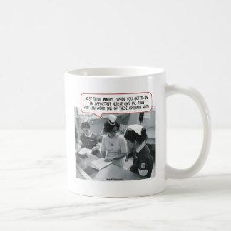 Important Nurse - Adorable Hat Classic White Coffee Mug