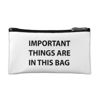Important Things Are In This Bag