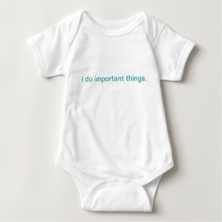 important things baby bodysuit