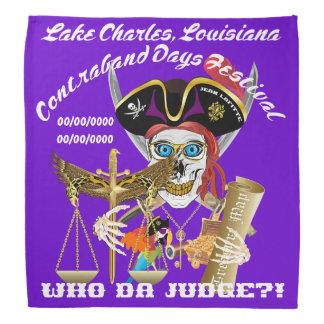 IMPORTANTE del juez del pirata leído sobre diseño Bandanas
