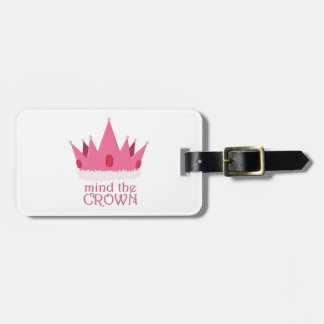 Importe de la corona etiquetas bolsas