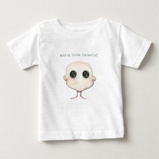 ¡importe de mi pequeña fontanela! camiseta del poleras