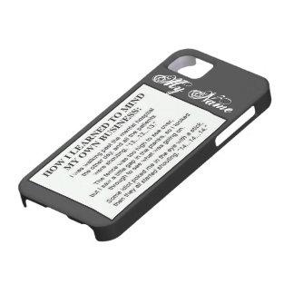 Importe de mi propio caso del negocio Iphone5 iPhone 5 Carcasas