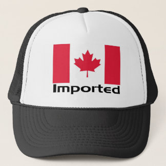Imported Canada Trucker Hat