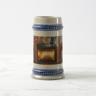 Imported Custom Beer Stein  for the Holidays Mug