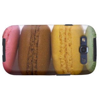 Imported gourmet French macarons (macaroons) Samsung Galaxy SIII Covers