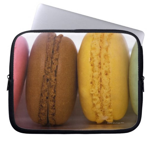 Imported gourmet French macarons (macaroons) Laptop Sleeves