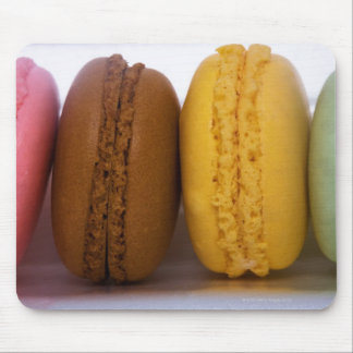 Imported gourmet French macarons (macaroons) Mouse Pad