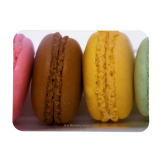 Imported gourmet French macarons (macaroons) Rectangular Photo Magnet