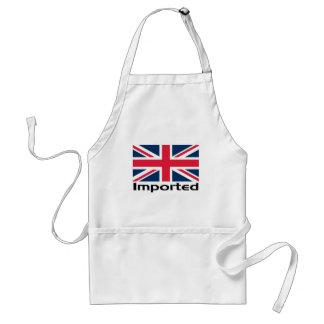 Imported UK Flag Adult Apron