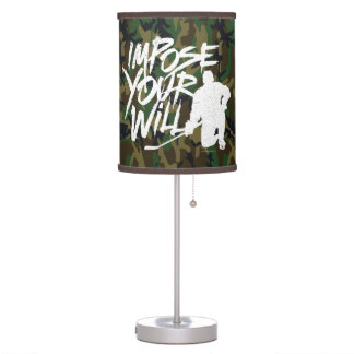 Impose Your Will (Hockey) Desk Lamp