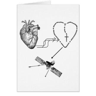 Imposibilidad del rosario del corazón tarjetas
