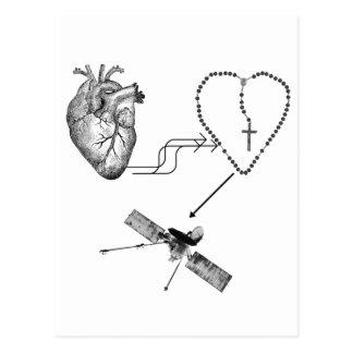 Imposibilidad del rosario del corazón tarjetas postales