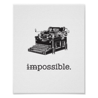 Imposible, posible - poster