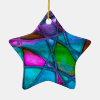 imposing abstract blue christmas ornaments