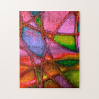 imposing abstract jigsaw puzzle