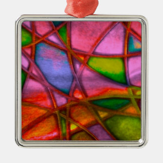 imposing abstract red ornament