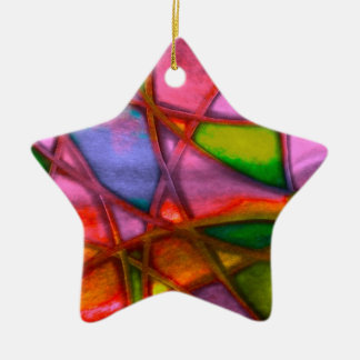 imposing abstract red christmas ornaments