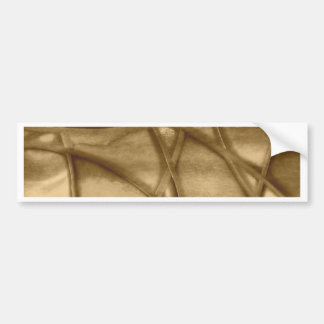 imposing abstract sepia bumper stickers