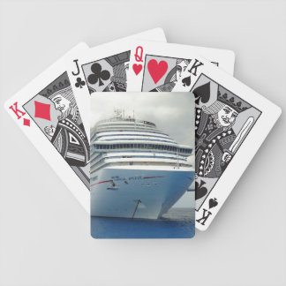 Imposing Bow Bicycle Playing Cards