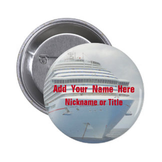 Imposing Bow Personalized Pinback Button