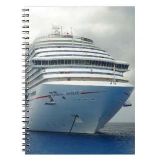 Imposing Bow Spiral Notebook