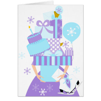 Impossible Birthday Stack No.1 Winter Card