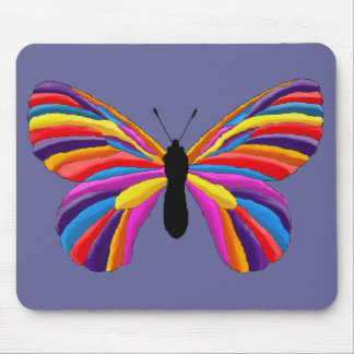 Impossible Butterfly Mouse Pad