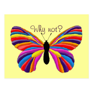 Impossible Butterfly - Why Not? Post Cards