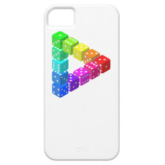 Impossible Dice Triangle iPhone 5 Cover