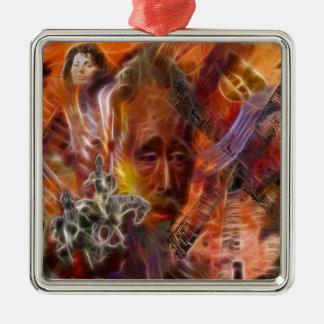 Impossible Dream Metal Ornament