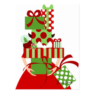 Impossible Gift Stack Postcard