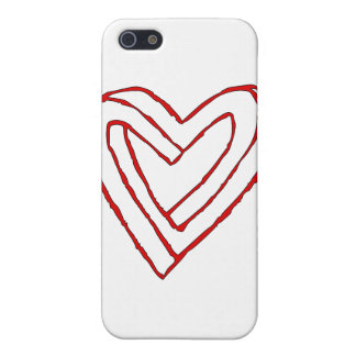 Impossible Heart Optical Illusion Covers For iPhone 5