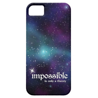 Impossible is Only a Theory iPhone SE/5/5s Case