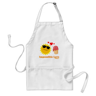 Impossible Love Adult Apron