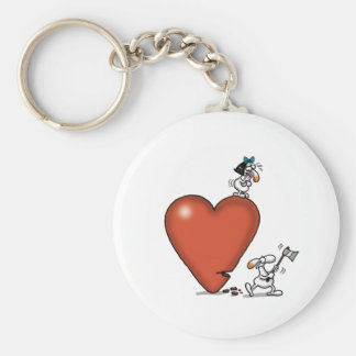 Impossible Love - Axing Love Keychain