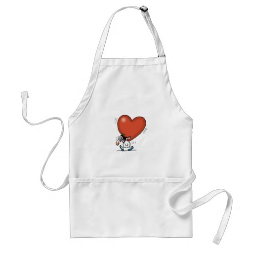 Impossible Love - Heavy Love Apron