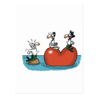 Impossible Love - Love Cheat Postcard