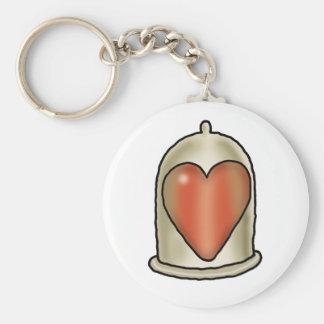 Impossible Love - Love Condom Key Chain