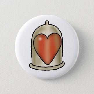 Impossible Love - Love Condom Pinback Button