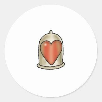 Impossible Love - Love Condom Stickers