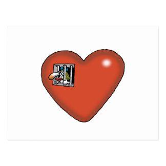 Impossible Love - Love Prisoner Post Cards