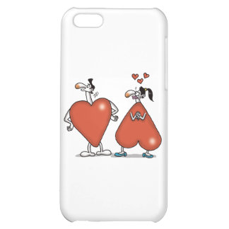 Impossible Love - Love Shapes iPhone 5C Cases