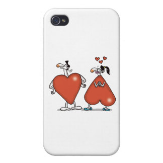 Impossible Love - Love Shapes iPhone 4/4S Cover