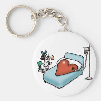 Impossible Love - Love Sick Basic Round Button Keychain