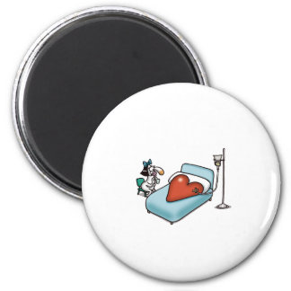 Impossible Love - Love Sick 2 Inch Round Magnet
