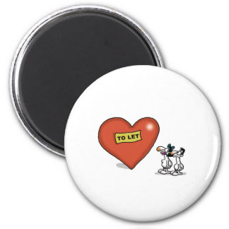 Impossible Love - Love to Let 2 Inch Round Magnet