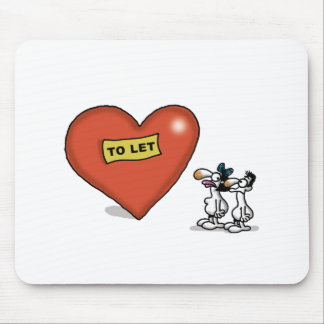 Impossible Love - Love to Let Mouse Pad
