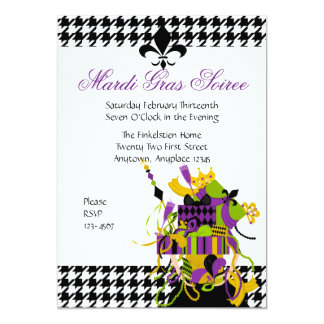 Impossible Mardi Gras Stack Card